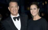 Tom Hanks and wife, Rita Wilson. AP Photo by Jonathan Short/Invision/AP, File.