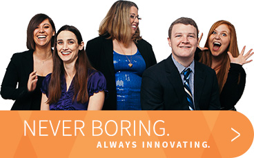 Always Innovating. Never Boring.